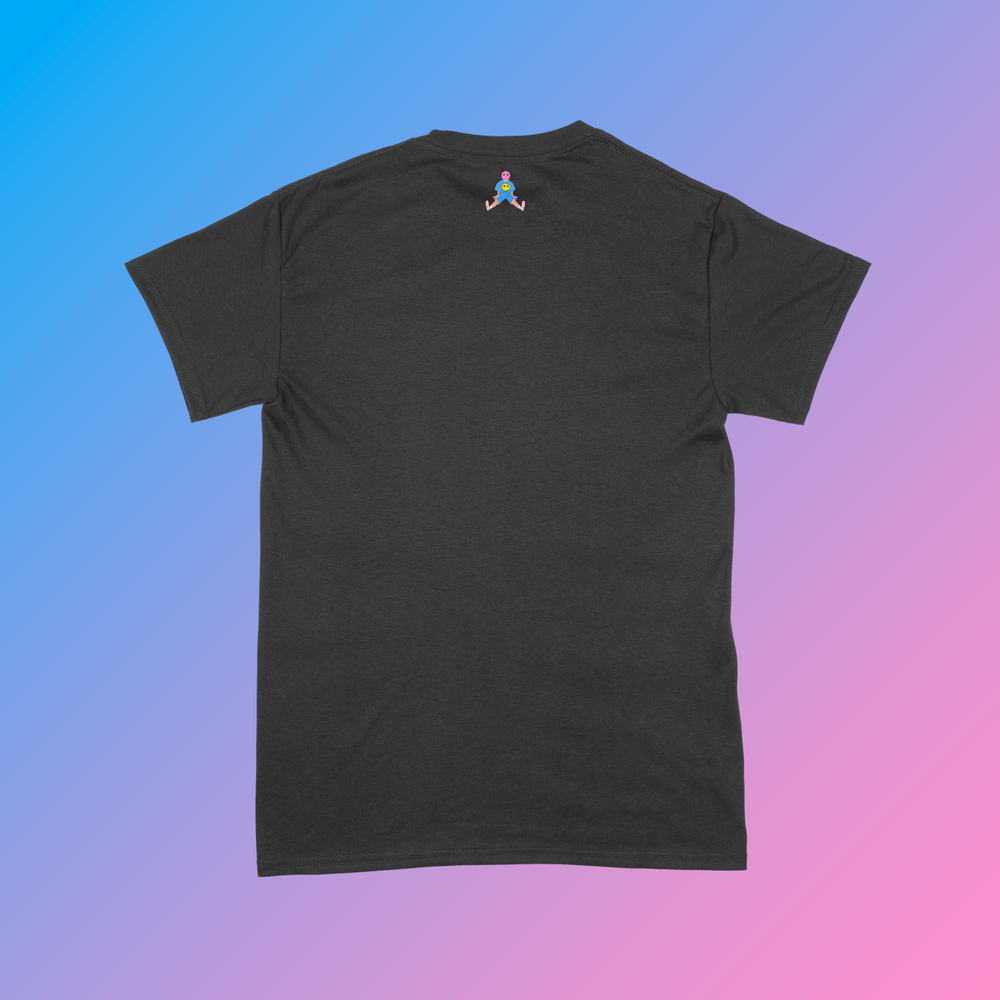 Image of Spring 2021 Collection: Black Spring Tee