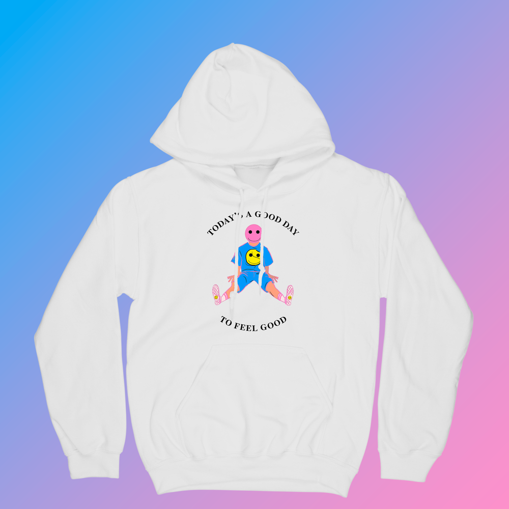 Image of  Spring 2021 Collection: White Today Hoodie