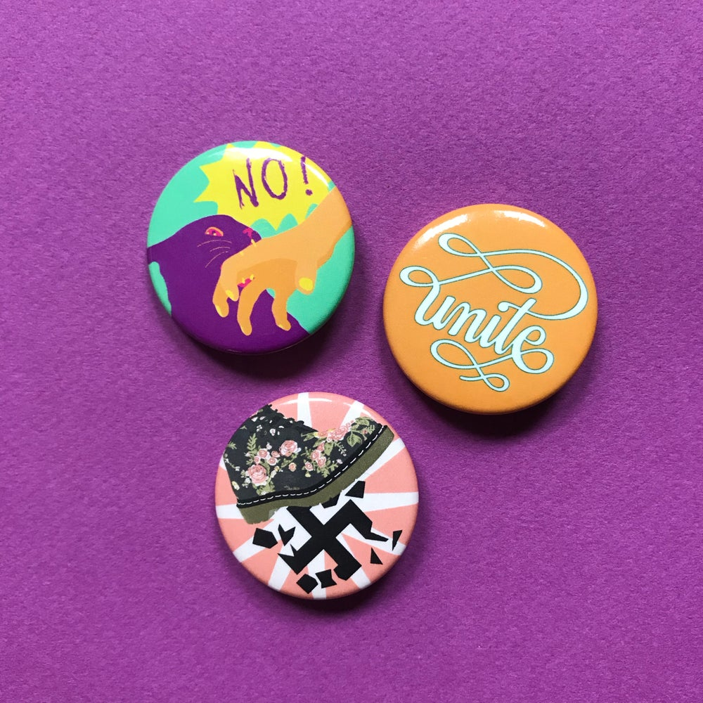 Image of SJW Button Pack