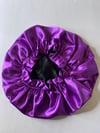 Satin double layered bonnets 🤩
