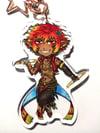 Warrior of Light (Amal) Double Sided Acrylic Charm
