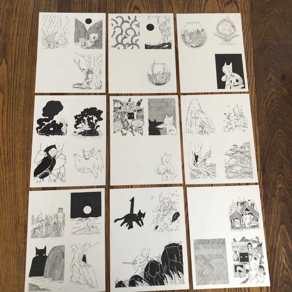 Image of Zine Drawings Lot 2