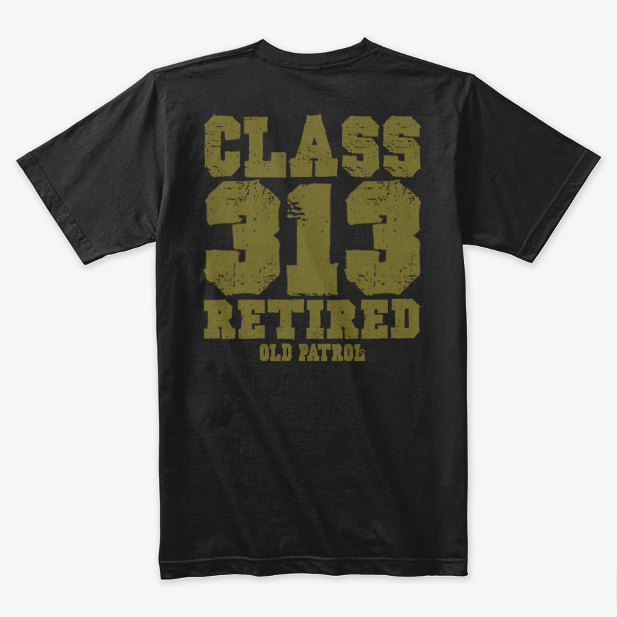 Image of CLASS RETIRED ~ CUSTOMIZEABLE CLASS TEES