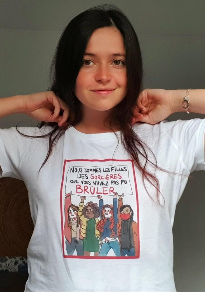 Image of T-Shirt THE SIMONES X La Nuit Remue - SORCIERES