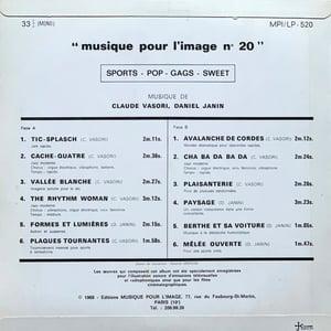 Claude Vasori / Daniel Janin - Sports - Pop - Gags - Sweet (Musique Pour L'Image - 1968)
