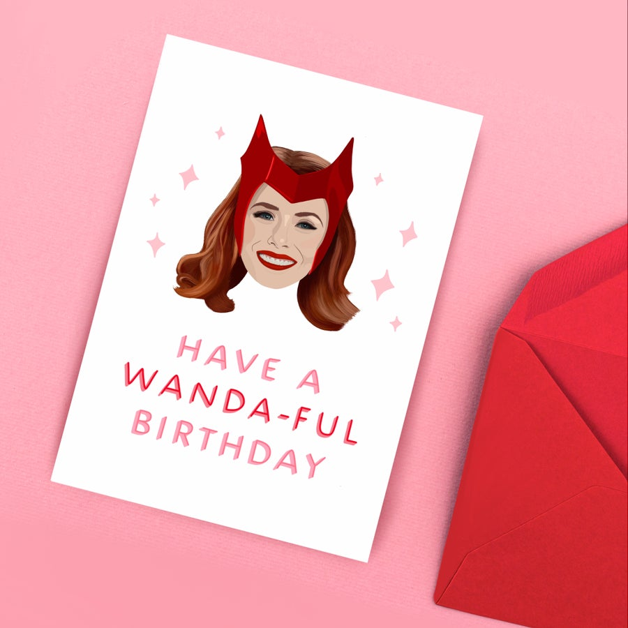 Image of Wanda Birthday Card by URGHH Card Co.