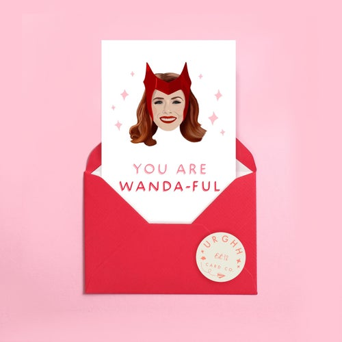 Image of Wanda-Ful Wanda Card  by URGHH Card Co.