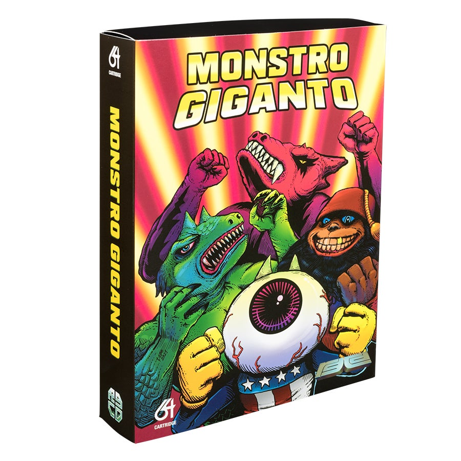 Image of Monstro Giganto (Commodore 64) (PRE-ORDER)