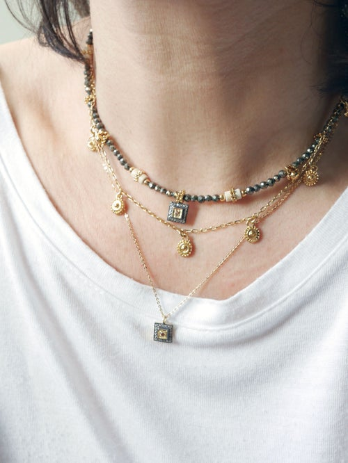 Image of Collier Diva simple