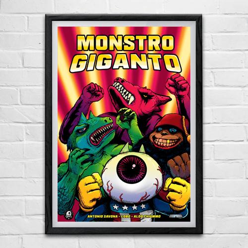 Image of Monstro Giganto (Commodore 64) (PRE-ORDER)