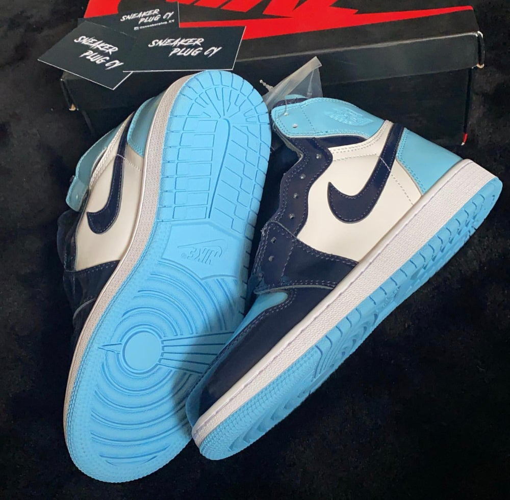 "Air Jordan 1 High ""Blue Chill"""