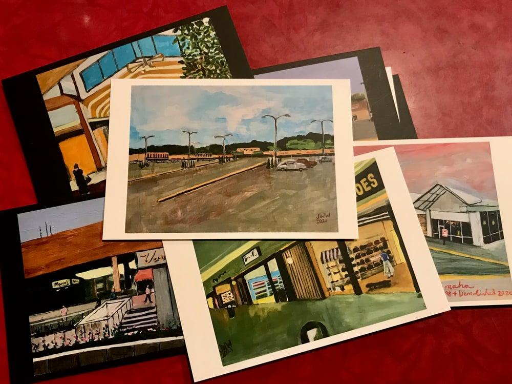 SMALL MALLS Postcard Pack - Pandemic Postcards Volume 3