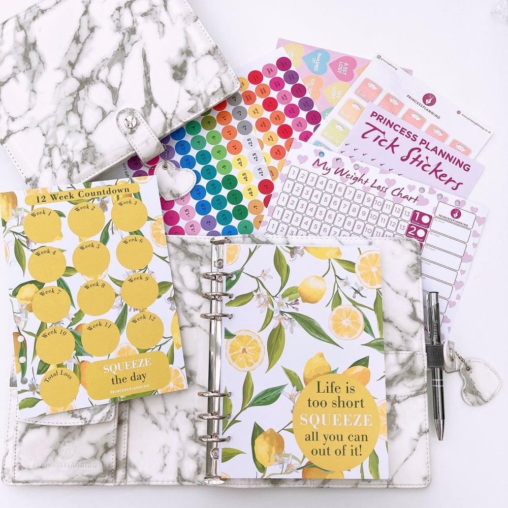 Image of GERT GREY MARBLE FULLY LOADED ORGANISER BUNDLE LETS DO THIS