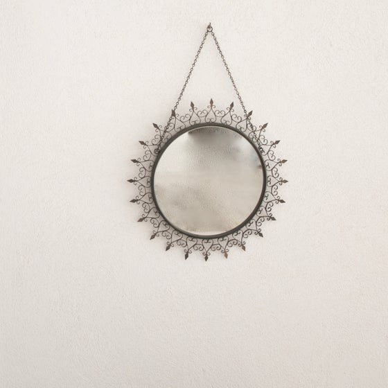 Image of Miroir vintage Chaty Vallauris