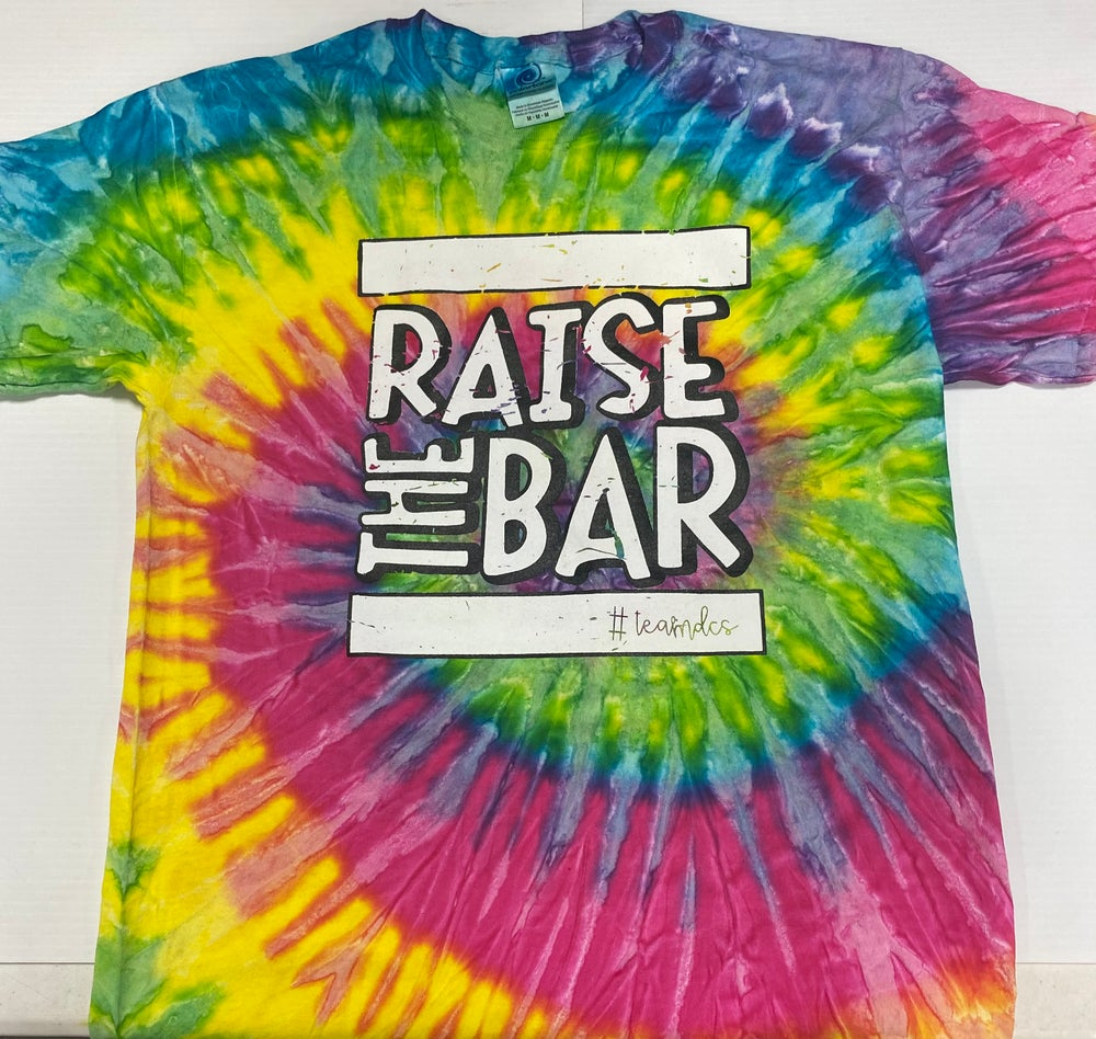 Image of RAISE THE BAR Tie Dye Shirts Spring 21- (Saturn)