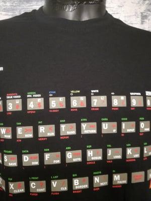 Image of Computer keyboard (spectrum) t shirt