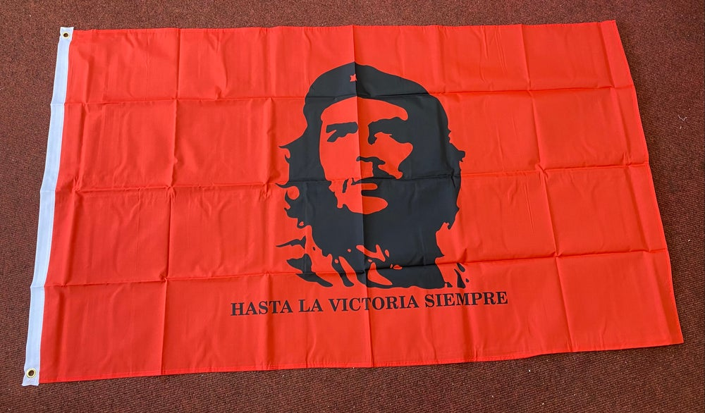 Che Guevara Red Flag