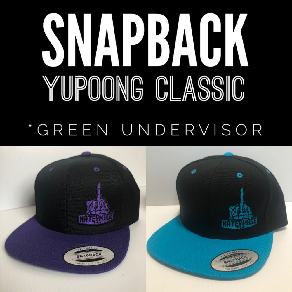 Image of SnapBack-Purple or Teal