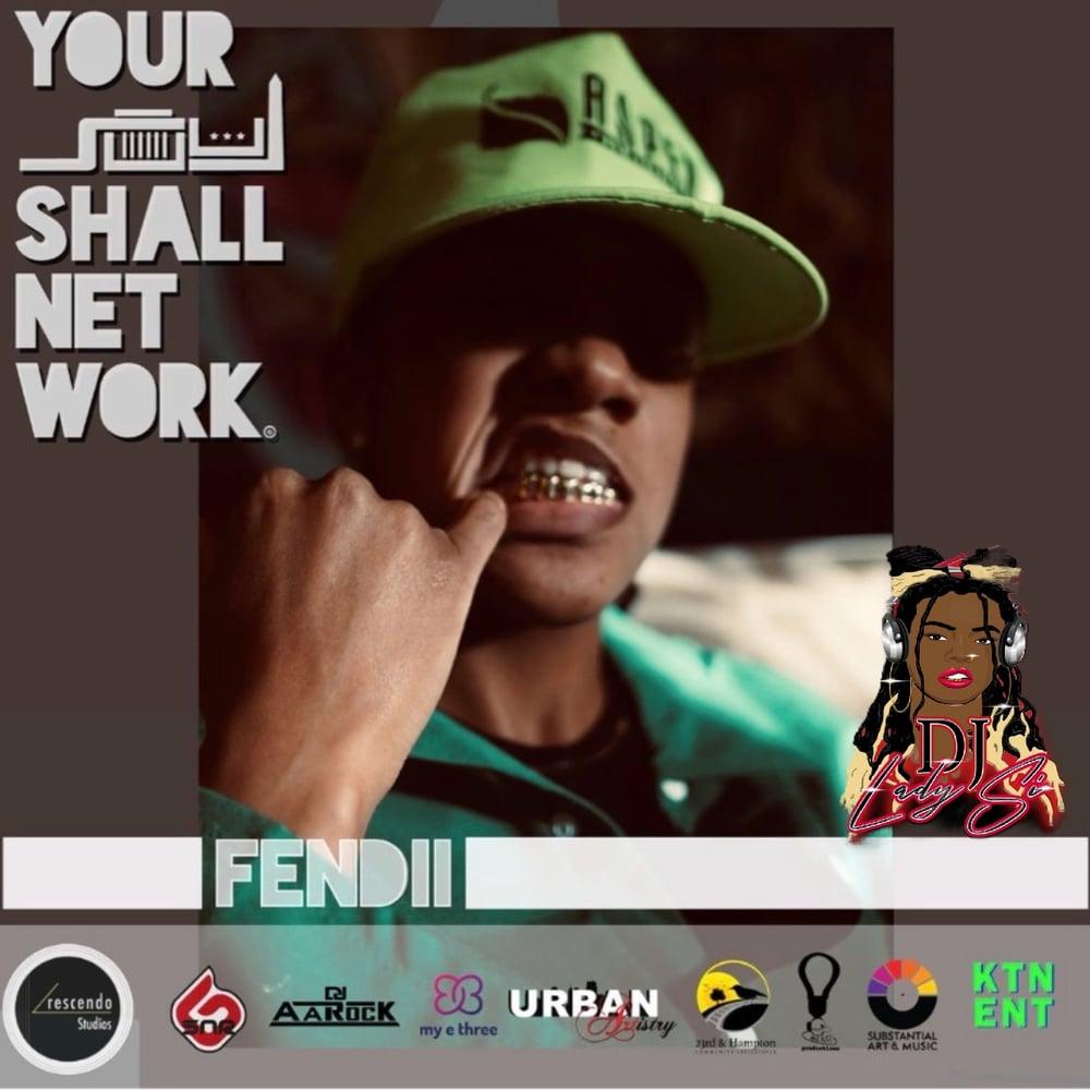 Image of DJ LADY SIIII PRESENTS FENDII VIRTUAL TICKET