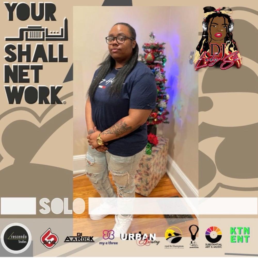 Image of DJ LADY SIIII PRESENTS SOLO VIRTUAL TICKET