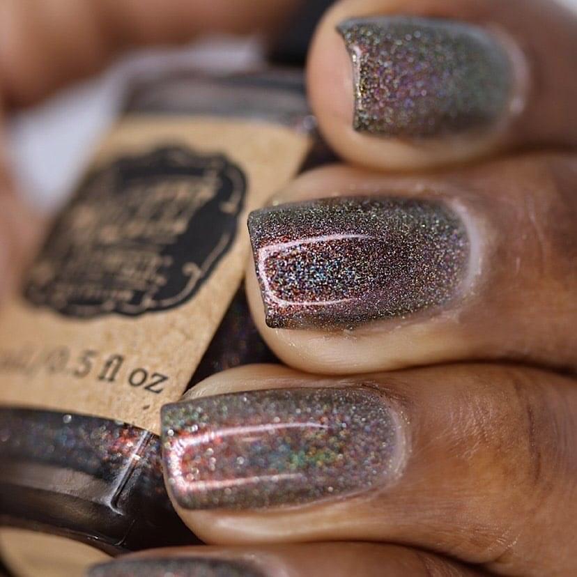 Shimmering Charcoal