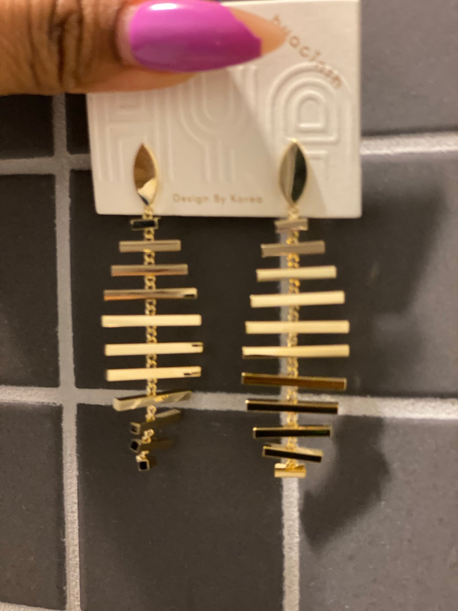 "Image of ""Fishbone"" earrings"