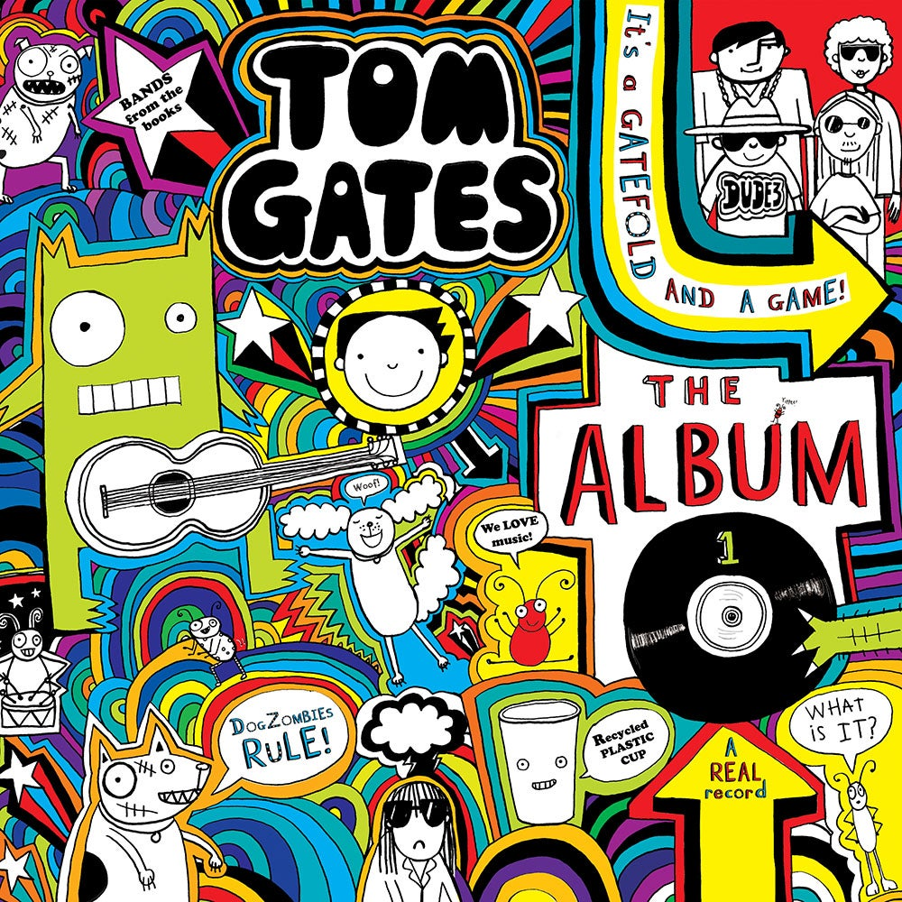 Image of Tom Gates - The Album (Signed Vinyl Edition) NEW SONGS!