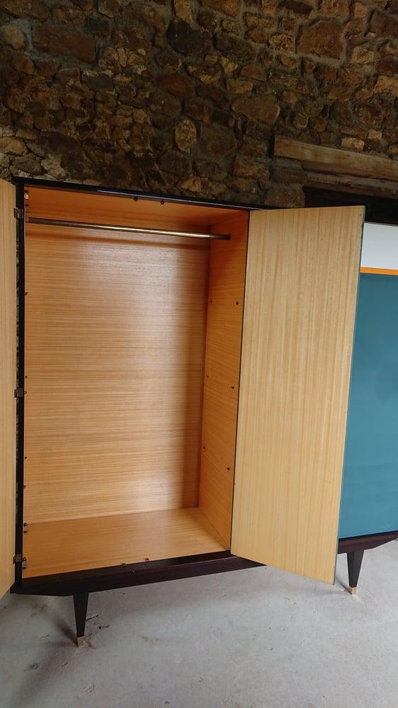 Image of Dressing 70'bleu paon