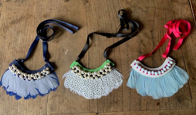Image of Plume Necklaces/Collars