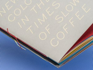 Image of NEW COLOR IN THE TIMES OF SLOW COFFEE