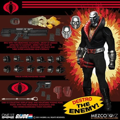 Image of  G.I. Joe Destro One:12 Collective Action Figure