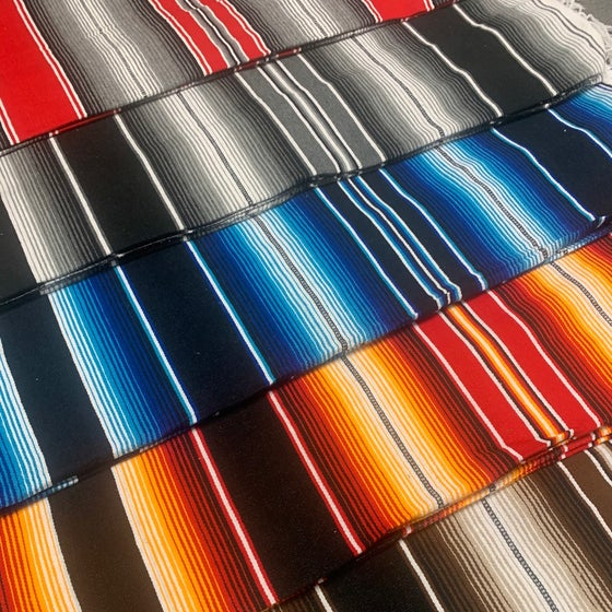 """Image of """"Mexican"""" Blankets (Assorted Colours)"""