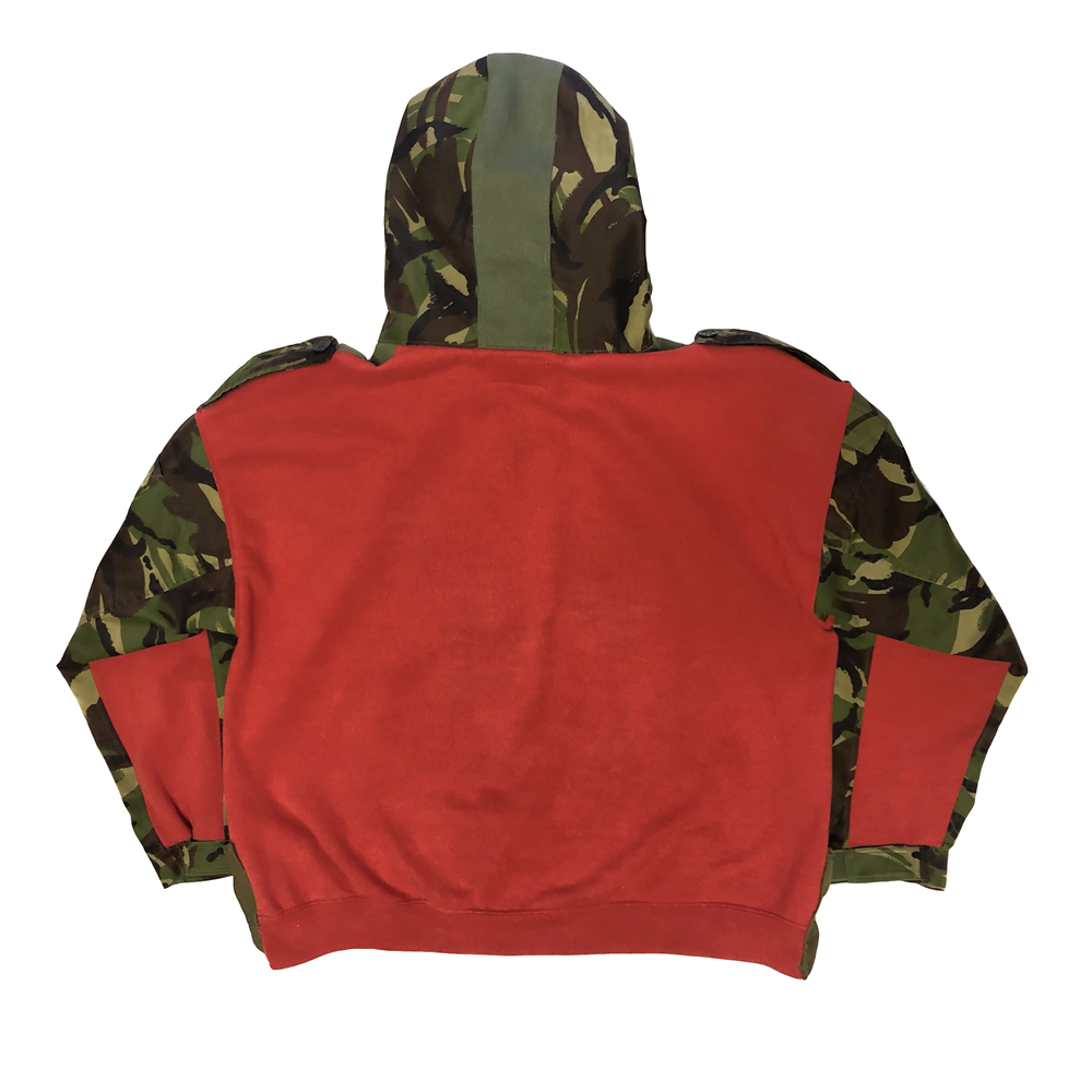 Wu Tang Military Hoodie
