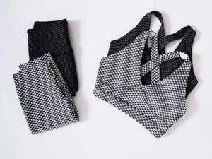 Image of NLFP LUXE SET WHITE / BLACK