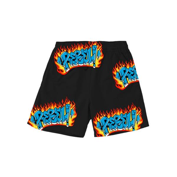 Image of REBEL! Riot Sports Shorts