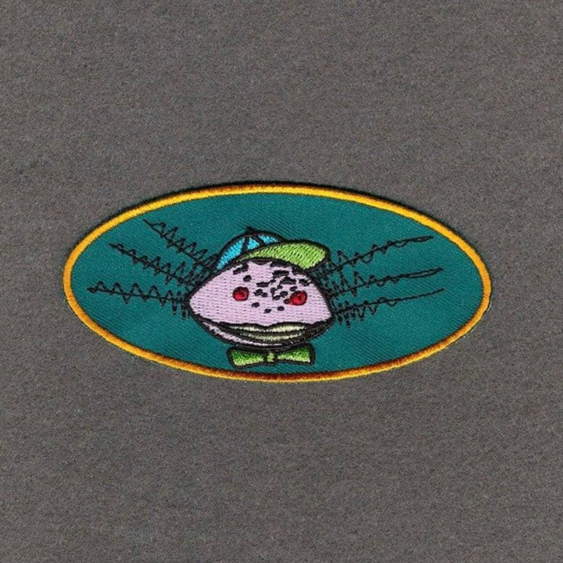 Image of Happy Axolotl Iron on Patch