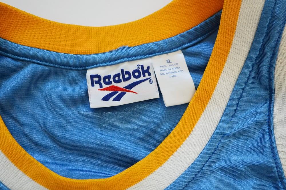 Image of Vintage 1990's UCLA Bruins Charles O'Bannon Reebok Dazzle Jersey Sz.XL