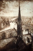 "Image of ""View from the Bell Tower"", Notre Dame, Paris"