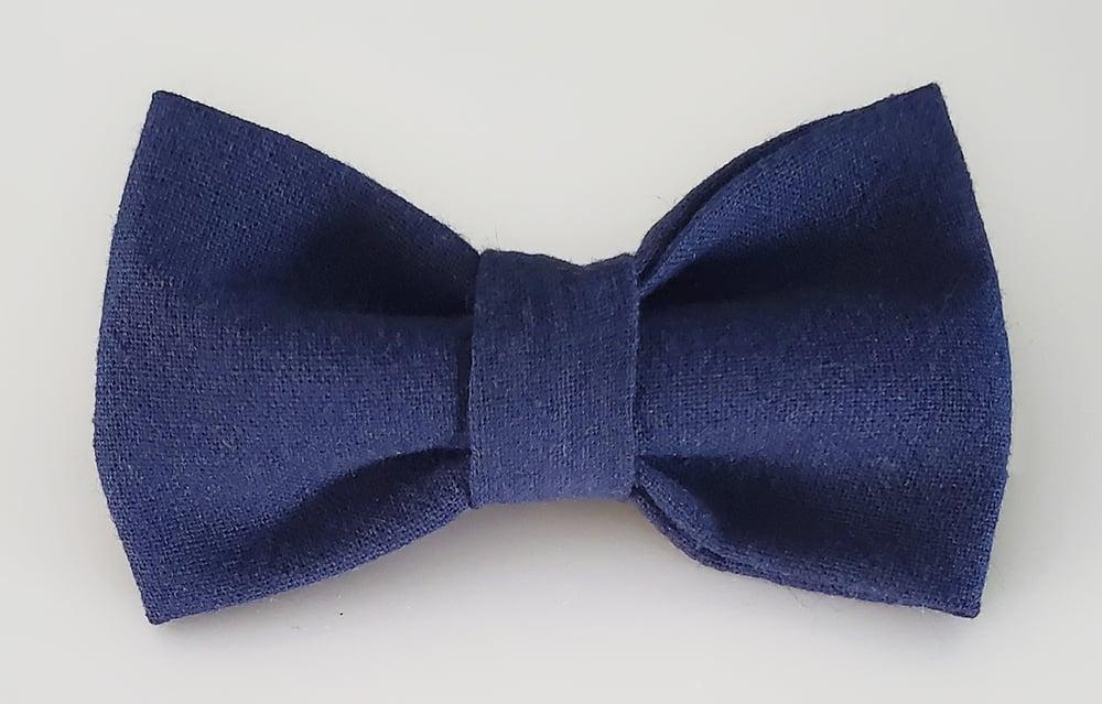 Image of Navy bowtie