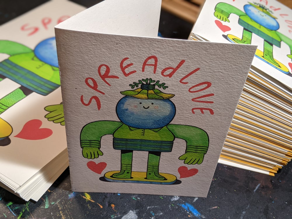 Image of Spread Love Greeting Cards