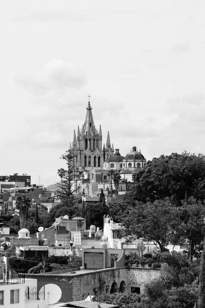 Image of Black and White San Miguel