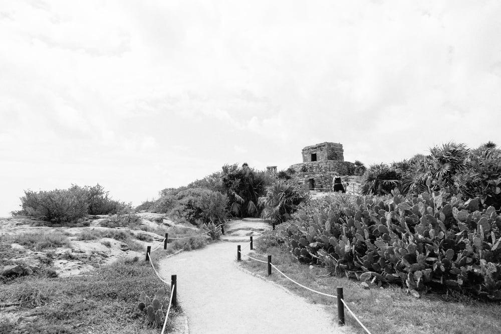 Image of Black and White Tulum