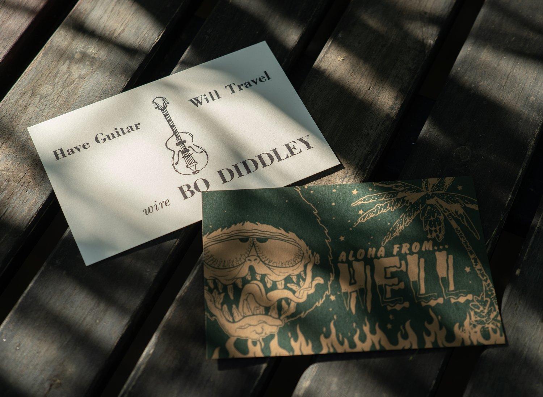 Image of Cretin Postcard 2 Pack Set