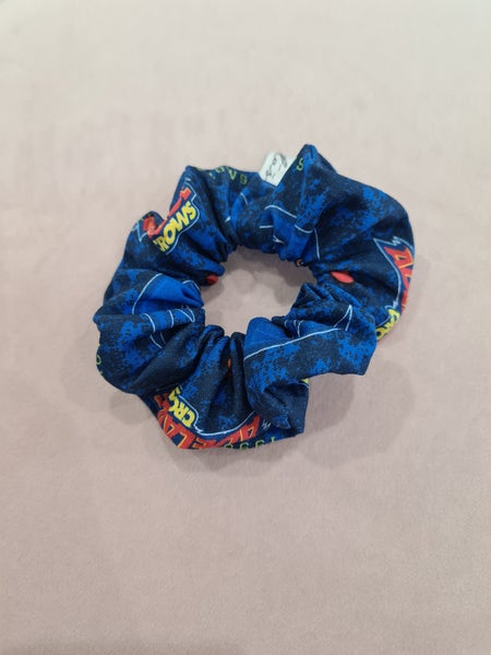 Image of AFL Adelaide Crows colour Hair scrunchy.