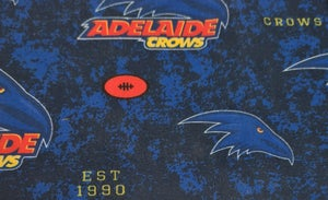 Image of AFL Adelaide Crows colour Hair scrunchie.