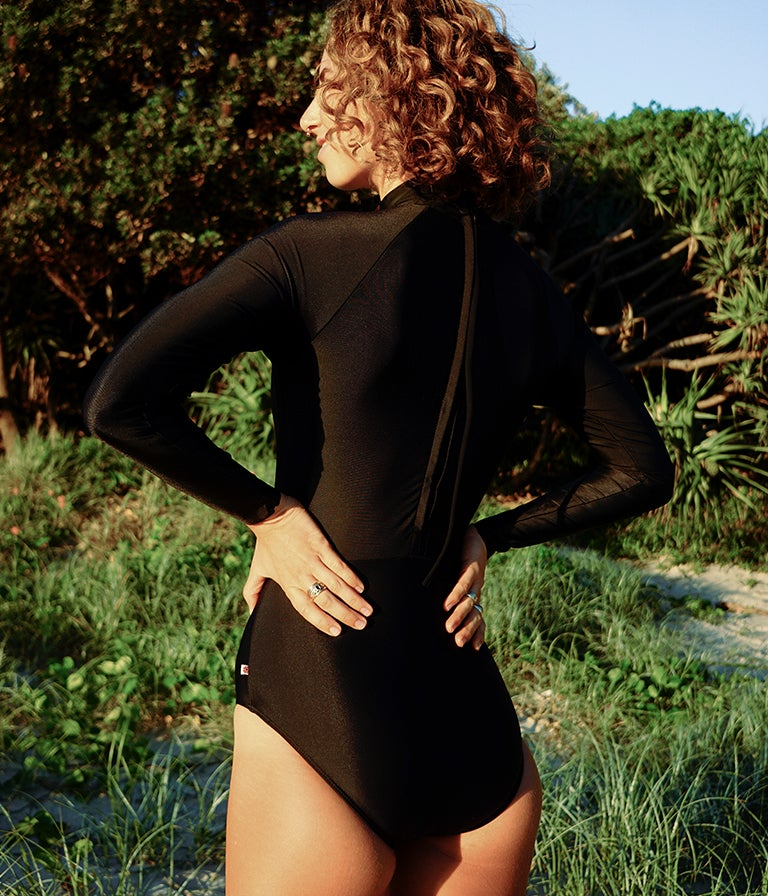 Image of Sol Surfsuit - Black