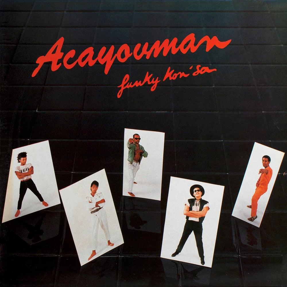 Acayouman - Funky Kon'Sa (Private - 1984)