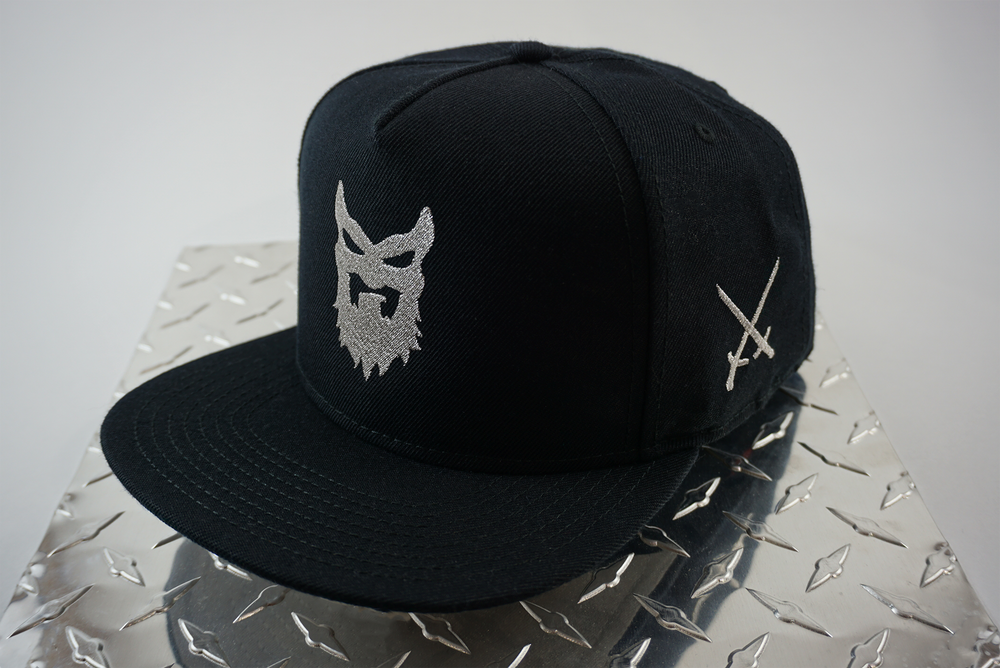 Image of CLASSIC Snapback Metallic Silver ( Limited Stock )