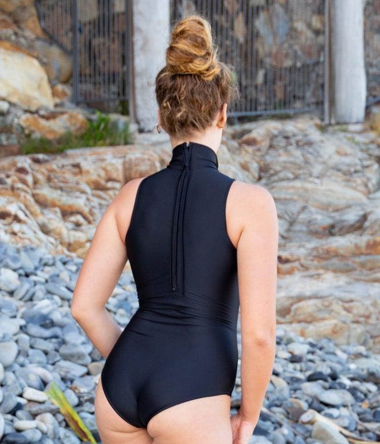 Image of Surf Onepiece - Black