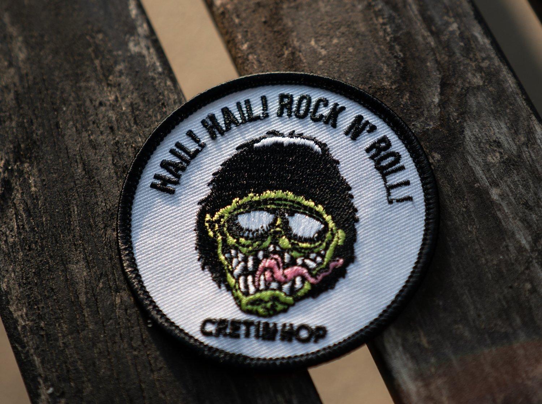 Image of Cretin Hail Hail Patch
